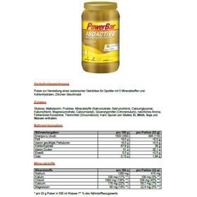 PowerBar Isoactive Alimentazione sportiva Lemon 1320g